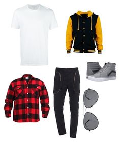 """""""Dancing Outfit #2!"""" by skittlesmaster on Polyvore featuring Neil Barrett, Faith Connexion, Vans, men's fashion and menswear"""