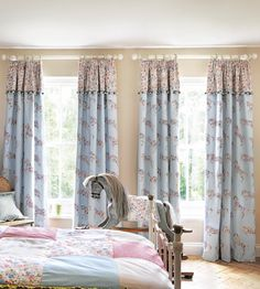 Pretty Ponies Fabric by Sanderson | Jane Clayton