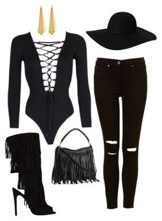 Untitled #579 by fashionista-shawnte on Polyvore featuring polyvore, fashion, style, Panacea and Monki
