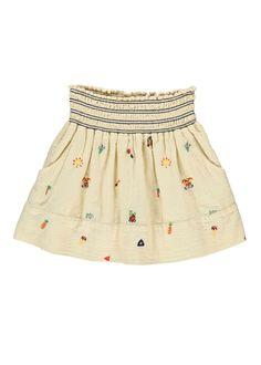 Embroidered Smock Skirt | Bellerose