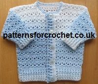 This Free Baby crochet pattern matinee coat from http://www.patternsforcrochet.co.uk/free-baby-crochet-pattern-e-book.html is easy to make and follow, written in both USA and UK formats for everyone to enjoy.