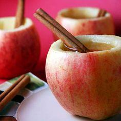 autumn crafts apple cups