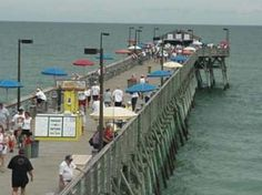 The Pier at Garden City is located south of Myrtle Beach, South Carolina and is the place for fishing, family, and fun. Myrtle Beach Vacation, Myrtle Beach Sc, Beach Vacation Rentals, Vacation Spots, Vacation Ideas, Garden City Beach Sc, Beach Gardens, Murrells Inlet, South Carolina
