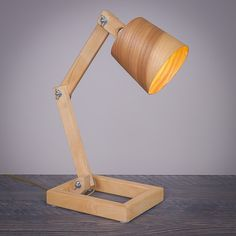 My wood lamp