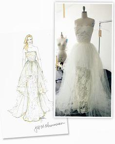 "Sneak Peek: Emily's custom made wedding dress Revenge Season 3, Episode 1: ""Fear"" - Spotted on TV"
