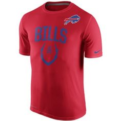 Men's Buffalo Bills Nike Red Legend Icon Performance T-Shirt