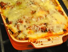 Love lasagna but hate the long noodles? Substitute frozen ravioli and you will have a new favorite lasagna.