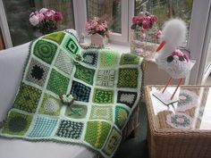 Ta - Dah! Introducing SIBOL 66! 'Two Tone Green 'any pattern'. by MRS TWINS, via Flickr