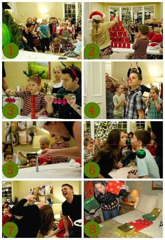 Christmas Holiday Party Games {For Kids, Groups & Families} Fun and hilarious Christmas party game ideas!Fun and hilarious Christmas party game ideas! Fun Christmas Party Games, Xmas Games, Holiday Games, Kids Party Games, Xmas Party, Christmas Activities, Christmas Traditions, Holiday Parties, Holiday Fun
