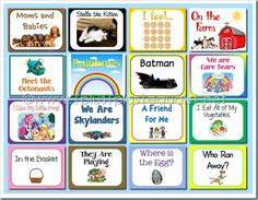 Easy Readers {free} printable books, and you can also use them on a tablet or other device