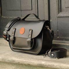messenger torba torebka plecak na ramie skórzany - ladybuqartstudio - Plecaki