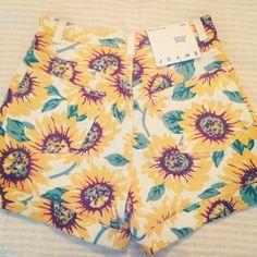 Sunflower shorts? Gimme.