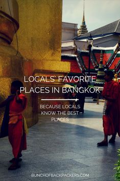 Three Bangkokians give their favorite places in Bangkok, Thailand. #Bangkok #Thailand #Asia