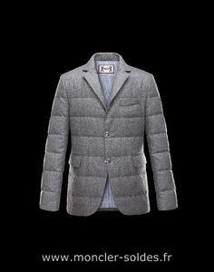 Doudoune Moncler Gamme Bleu Veste Veste Homme Gris Laine Coton 41459915Lq  Veste… Mens Fashion Blazer 0519f182045