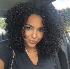 Gorgeous curly hair