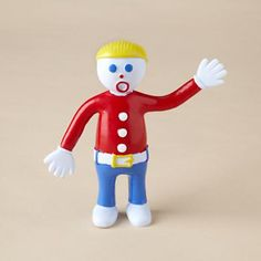 Mr. Bill ~ a '70's toy that originated from the 'Mr. Bill Show' on SNL. :)