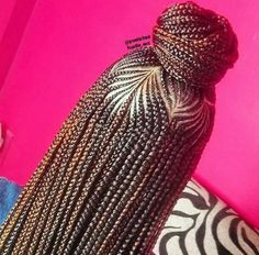 18 Most Beautiful Braided Bun for African American Woman - Summer Trends 2018 18 Most Beautiful Brai Protective Hairstyles, African Braids Hairstyles, Braided Hairstyles, Hairstyles 2018, Protective Styles, African Braids Styles, Wedding Hairstyles, Black Girl Braids, Braids For Black Hair