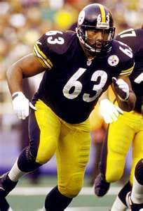 Dermontti Dawson, longtime Steeler center, will be entering the Hall of Fame in August.  Well deserved honor.