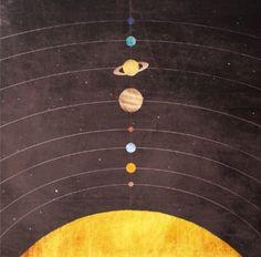 Solar System Stationery Cards by Annisa Tiara Utami - Set of 10 Folded Cards x Solar System Art, Solar System Poster, Adventure Time, Framed Art Prints, Canvas Prints, Wall Prints, Thing 1, Illustrations, Illustration Art