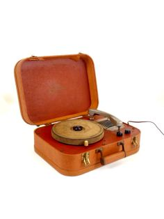 Symphonic suitcase record player
