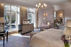 Royal Suite Bedroom at Mandarin Oriental Hyde Park, London | Flickr - Photo Sharing!