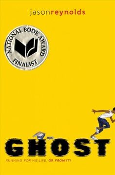 """Ghost by Jason Reynolds. """"Ghost, a naturally talented runner and troublemaker, is recruited for an elite middle school track team. He must stay on track, literally and figuratively, to reach his full potential""""-- Provided by publisher. Coretta Scott King, Great Books, New Books, Books To Read, Date, New York Times, Book Series, Book 1, Kindle"""