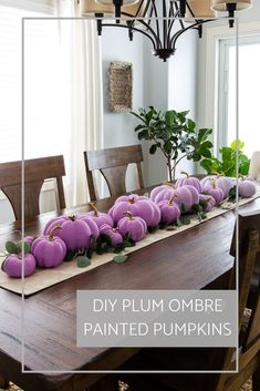 Create a fun fall centerpiece for anywhere in your home with a gathering of ombre painted pumpkins. Create a fun fall centerpiece for anywhere in your home with a gathering of ombre painted pumpkins. See the step-by-step of this easy pumpkin DIY tutorial! Metallic Paint Colors, Mixing Paint Colors, Fall Home Decor, Autumn Home, Diy Home Decor, Room Decor, Ombre Paint, Small Space Interior Design, Pumpkin Centerpieces