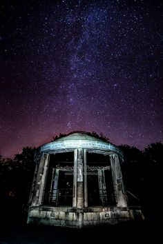 Milky way over South Park Bandstand Macclesfield August 2015 Love Is When, Pictures Of The Week, South Park, Milky Way, Landscape Photography, Northern Lights, Landscapes, Wall Art, Prints
