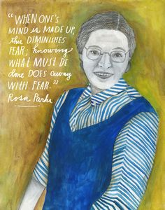 """Celebrated as """"the first lady of Civil Rights"""" and """"the mother of the freedom movement,"""" Rosa Parks (February 4, 1913–October 24, 2005) helped usher in a new era of equality with her iconic act of defiance against injustice: Her refusal to give up her bus seat to a white passenger on December 1, 1955, became one of the symbolic pillars of the modern Civil Rights movement. Though Parks, raised by a strong mother and nursed on pride in her heritage, was not the first ..."""