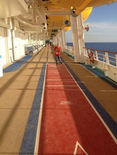 shuffleboard - navigator of the seas, march 2013 @Royal Caribbean International