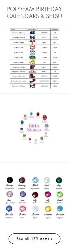 """POLY/FAM BIRTHDAY CALENDARS & SETS!!!"" by enjoyzworld ❤ liked on Polyvore featuring happybirthday, enjoyItsAllCake, FierceBirthdaySet, art, happybirthdaypolyvore, birthdaylist, Januarybirthdays, JanuaryBabies, jewelry and rings"