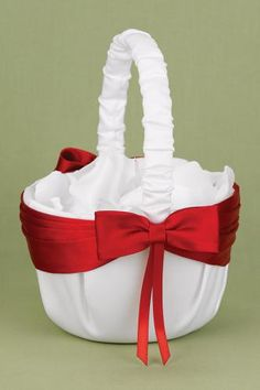 7 best flower girl baskets images on pinterest flower girl basket white and red lasting radiance ring bearer pillow find this pin and more on flower girl baskets mightylinksfo