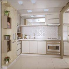 Como lidar com uma cozinha linda assim? Não da autoria: Ambientalize Arquitetura || Meu insta autoral: @lorenalima_interiores