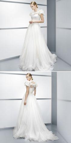 Best A-Line Wedding Dress: Jesus Peiro 2014 Seams Collection