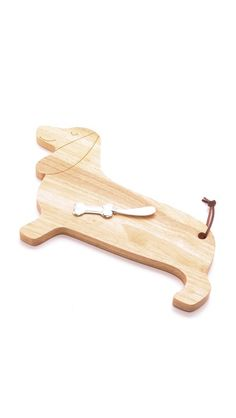 C. Wonder Dachshund Cheese Board
