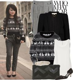 """""""Black and White"""" by anitalolonga on Polyvore"""