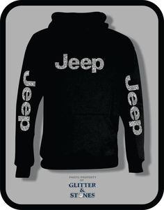 Jeep Glitter Hoodie by GlitternStones on Etsy Jeep Cars, Jeep Truck, Jeep Jeep, Jeep Liberty, Jeep Clothing, Woman Clothing, Jeep Accessories, Wrangler Accessories, Clothing Accessories