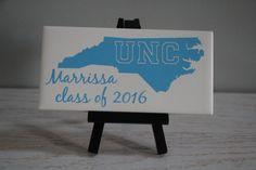 University of North Carolina Tarheels Sign UNC by EntropySigns