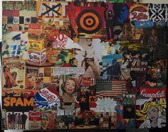 pop part collage deco art creative leisure