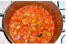 ... | Cucumber pickle recipe, Vegetable ratatouille and Plum chutney