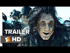 Pirates of the Caribbean: Dead Men Tell No Tales Intl Hollywood Movie Official Trailer - World Trailer Zone Trailer 2, New Trailers, Official Trailer, Dead Man, Disney Films, Monster Hunter, Pirates Of The Caribbean, Johnny Depp, Good News