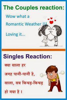 Rainy Day Jokes Hindi : rainy, jokes, hindi, Ideas, Jokes, Hindi,, Funny, Quotes,