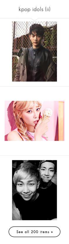 """kpop idols (ii)"" by rain-storms ❤ liked on Polyvore featuring shinee, kpop, photos, bts, bts - suga, yoongi, bts - taehyung, suga, people and jimin"