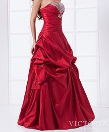 Love this- red grad dress