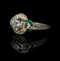 Art Deco Ring Tiffanys