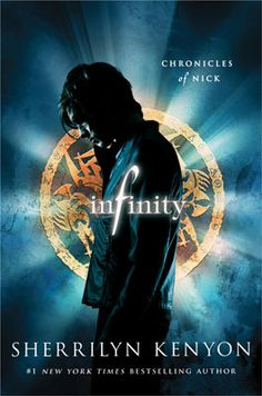 Infinity by Sherrilyn Kenyon.  First book of the Chronicles of Nick.  Amazing.  Zombie football players, need I say more!?