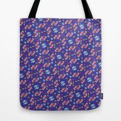 Caballito Flor Tote Bag by Pamku Design