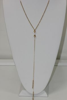 Gold Filled Tie Necklace  JC-14N by INOCSION777 on Etsy