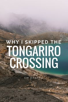 The Tongariro Crossing in New Zealand is widely considered to be one of the best day hikes in the country, and maybe even anywhere in the world. I spent three years in NZ, but I never did the Crossing. Here's why. | Photo by Daniel Chen | #NewZealand #TongariroCrossing