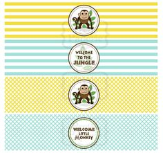 welcome to the jungle... FREE printables
